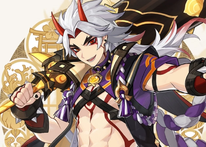 Arataki Itto Genshin Impact Gameplaynya Terbocorkan